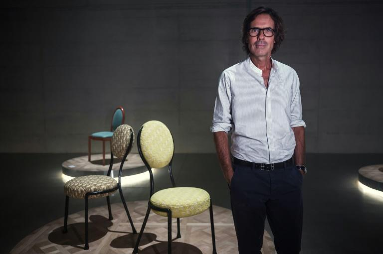 French designer Pierre Yovanovitch said people wanted 'comfort, sensuality', not cold, white interiors (AFP/MARCO BERTORELLO)