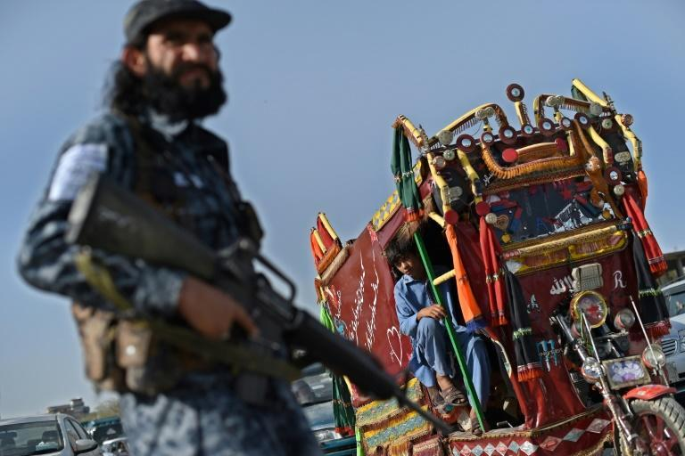 There is widespread fear of the Taliban, rooted in memories of their brutal first regime in the 1990s (AFP/WAKIL KOHSAR)