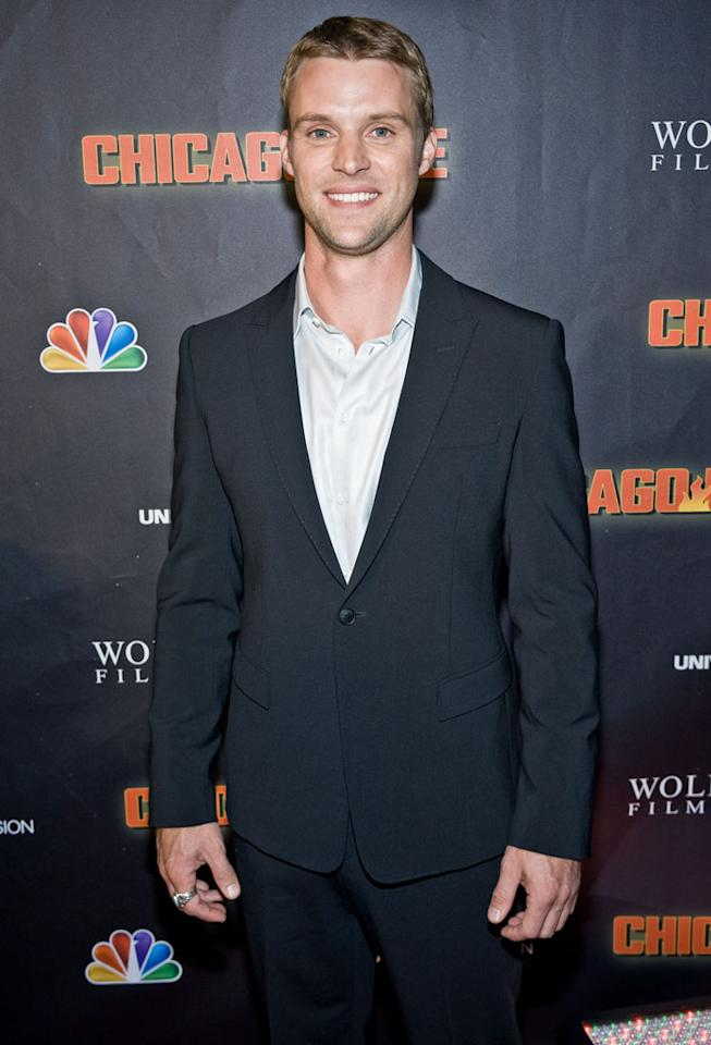 "Jesse Spencer attends NBC's ""Chicago Fire"" premiere at the Chicago History Museum on October 2, 2012 in Chicago, Illinois."
