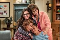 <p>The reboot of this family sitcom, which originally aired from 1975-1984, debuted as a Netflix original series in 2017, but the streaming giant pulled the plug after just three seasons. However, strong fan outcry over the show's premature cancellation led to the sitcom finding a new home in the form of PopTV. Season four debuted in March 2020, and it has recently enjoyed Critics' Choice and Primetime Emmy nominations.</p>