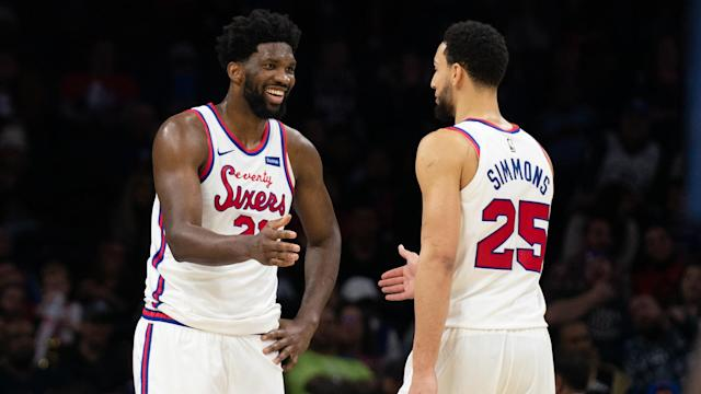 Tanking to the Top: The Philadelphia 76ers and the Most Audacious Process in the History of Professional Sports explains how the Philadelphia 76ers lost on purpose and eventually rebuilt their team. Mandatory Credit: Bill Streicher-USA TODAY Sports