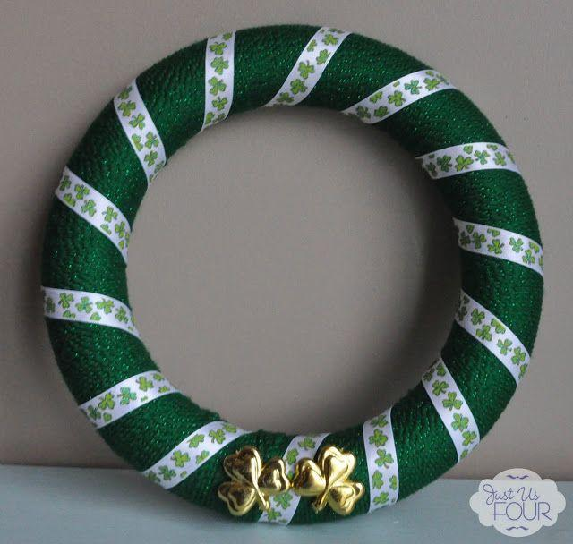 "<p>To make this pretty Paddy's door hanger, along with loads of green yarn, you'll need the patience to wrap it around (and around, and around) a wreath form.</p><p><strong>Get the tutorial at <a href=""https://www.mysuburbankitchen.com/st-patricks-day-crafts-yarn-wreath/"" rel=""nofollow noopener"" target=""_blank"" data-ylk=""slk:My Suburban Kitchen"" class=""link rapid-noclick-resp"">My Suburban Kitchen</a>.</strong></p><p><a class=""link rapid-noclick-resp"" href=""https://www.amazon.com/green-yarn/s?k=green+yarn&tag=syn-yahoo-20&ascsubtag=%5Bartid%7C10050.g.35162910%5Bsrc%7Cyahoo-us"" rel=""nofollow noopener"" target=""_blank"" data-ylk=""slk:SHOP GREEN YARN"">SHOP GREEN YARN</a><br></p>"