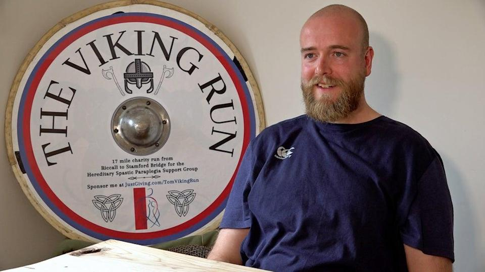 Tom Bell will retrace the steps of a famous viking journey (Richard McCarthy/PA) (PA Wire)