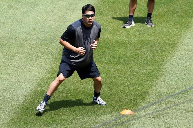 Tanaka throws 1st bullpen since hit by liner on July 4