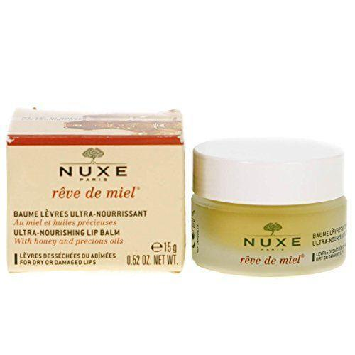 """<p><strong>NUXE</strong></p><p>amazon.com</p><p><strong>$24.00</strong></p><p><a href=""""https://www.amazon.com/dp/B004MZMEGC?tag=syn-yahoo-20&ascsubtag=%5Bartid%7C10055.g.3325%5Bsrc%7Cyahoo-us"""" rel=""""nofollow noopener"""" target=""""_blank"""" data-ylk=""""slk:Shop Now"""" class=""""link rapid-noclick-resp"""">Shop Now</a></p><p>""""This rich lip butter from French brand Nuxe has become a cult favorite and is one of mine, too,"""" says Beauty Director, April Franzino. """"It's <strong>packed with nourishing ingredients like shea butter and plant oils</strong> like sweet almond and really works to heal dry lips. Plus, the lightly sweet honey scent is delicious!""""</p>"""