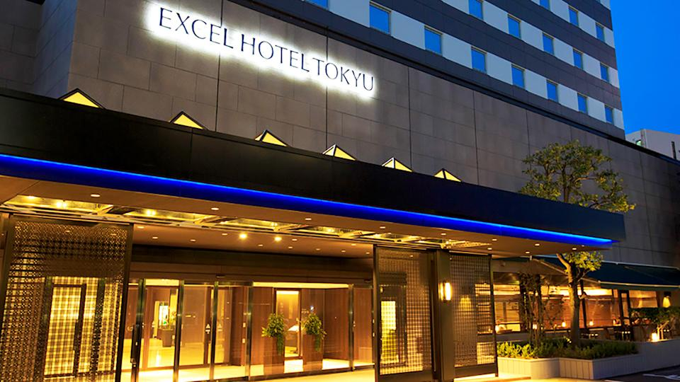 The Akasaka Excel Hotel Tokyu, pictured here in downtown Tokyo.