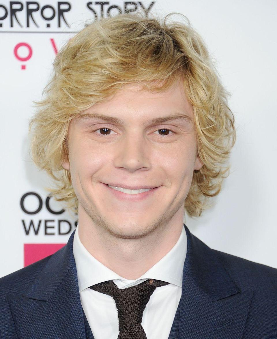 <p>For <em>American Horror Story</em> season 8, Peters committed to his role and bleached his famous brown hair for his role as a hairdresser. </p>