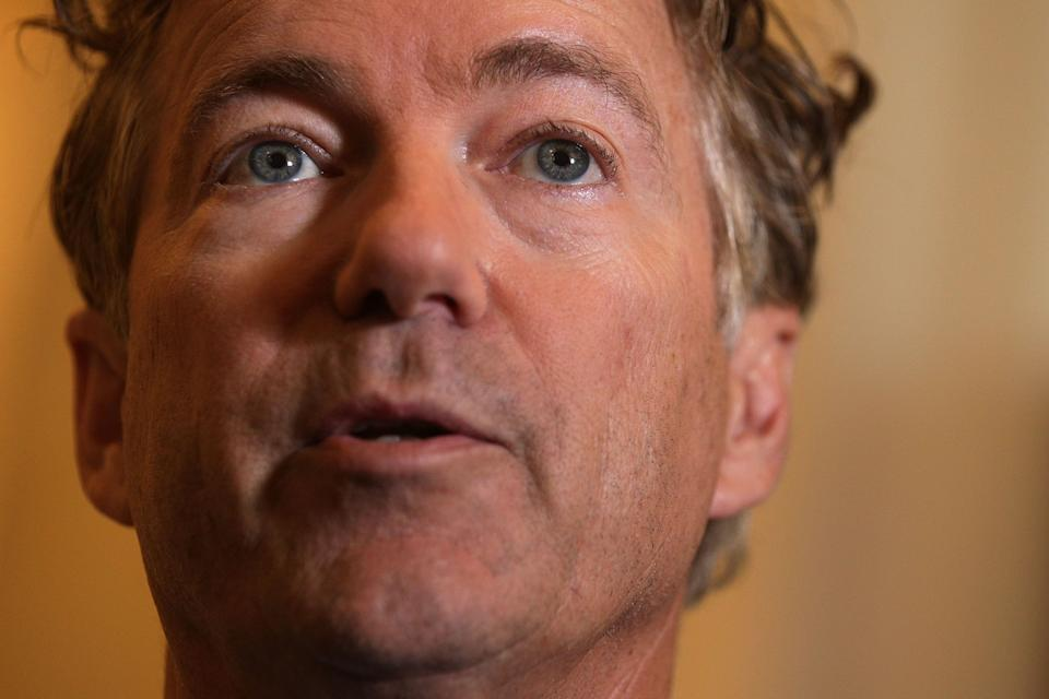 Rand Paul says he's not trying to oust Mitch McConnell. But he keeps backing candidates who've shown little regard for the Senate majority leader. (Photo: Alex Wong via Getty Images)