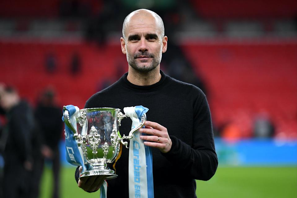 <p>The Carabao Cup was City's only trophy last season</p> (Getty Images)
