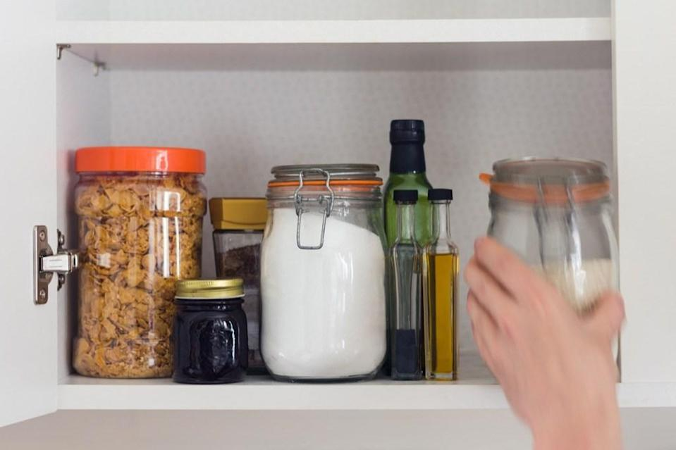 Always, always remember to put items away once you're done using them—and yes, this applies to the dishes, too. Though cleaning up immediately after exerting energy on another activity is gruesome, doing so will ensure that you aren't stressed for the rest of the day, thinking about the tidying up you have to do.