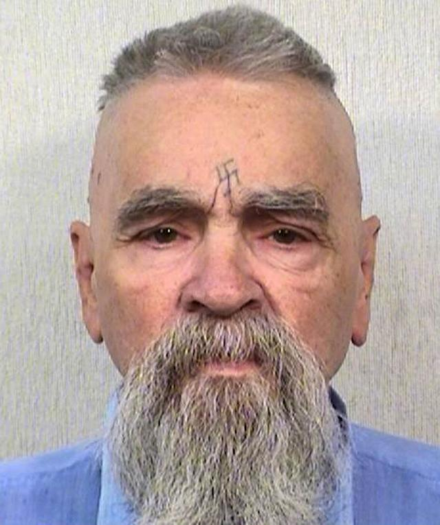 <p>This Oct. 8, 2014, photo provided by the California Department of Corrections and Rehabilitation shows serial killer Charles Manson. (Photo: California Department of Corrections and Rehabilitation via AP) </p>