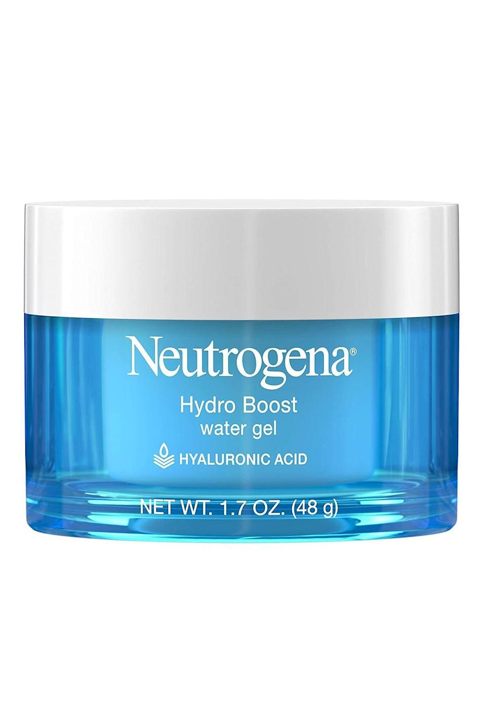 """<p><strong>Neutrogena</strong></p><p>amazon.com</p><p><strong>$15.63</strong></p><p><a href=""""http://www.amazon.com/dp/B00NR1YQHM/?tag=syn-yahoo-20&ascsubtag=%5Bartid%7C10058.g.34015100%5Bsrc%7Cyahoo-us"""" rel=""""nofollow noopener"""" target=""""_blank"""" data-ylk=""""slk:SHOP IT"""" class=""""link rapid-noclick-resp"""">SHOP IT</a></p><p>This moisturizer is a classic staple for a reason. It's hydrating like a balm, but sinks into the skin like a gel. If you're looking for moisture without the greasy residue, this cream is for you.</p>"""
