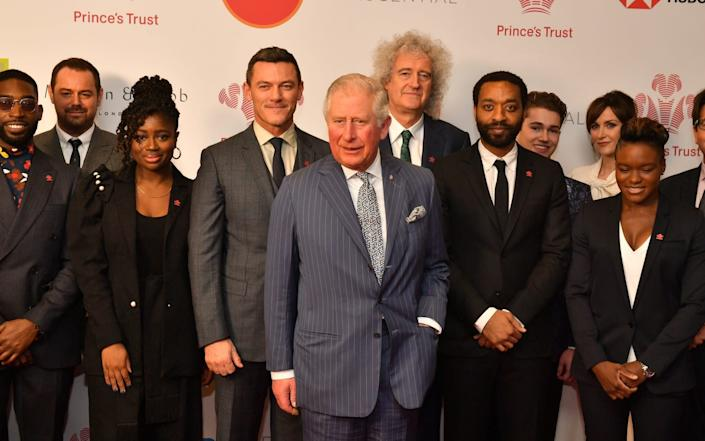 Prince Charles at this year's Prince's Trust Awards - GETTY IMAGES