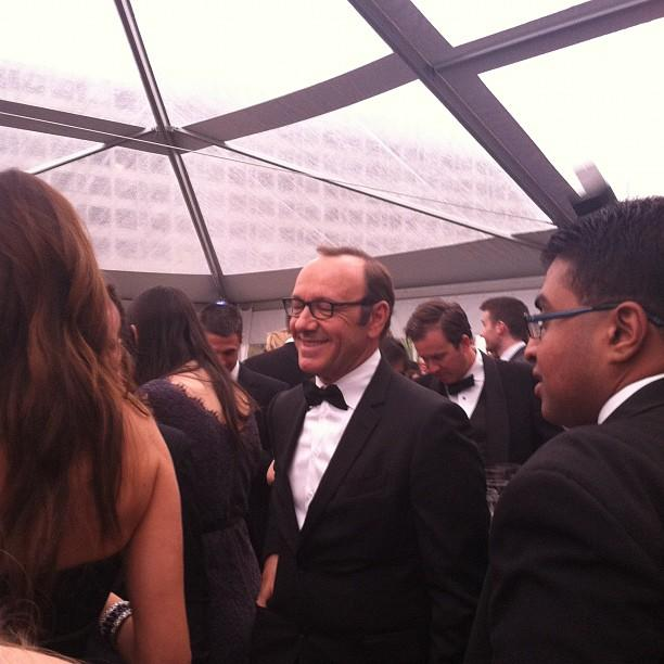 Actor Kevin Spacey lives for his Yahoo mail account. #whcd