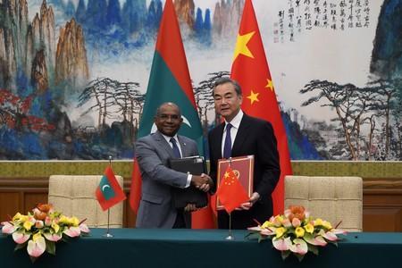 Maldives Foreign Minister Abdulla Shahid visits China