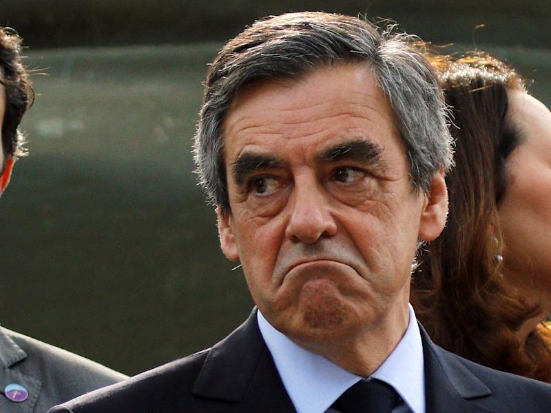 Francois Fillon, 2017 presidential election candidate of the French centre-right, visits the Mont Faron