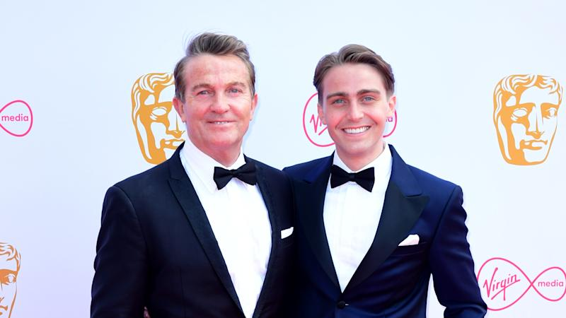 Bradley Walsh broke three bones in his back while filming with son