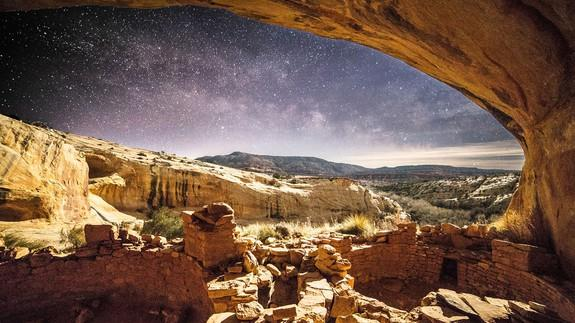 """<img alt=""""""""/><p>The Bears Ears region in southeastern Utah has many claims to fame. It's the sacred home to five Native American tribes, a popular spot for rock climbers and outdoor enthusiasts from around the U.S., and the location of tens of thousands of archaeological sites.</p> <p>But despite Bears Ears' importance, which earned it a national monument designation just weeks before President Barack Obama left office, the area is still threatened due to fossil fuel interests and politics. Now, a new series of interactive, virtual reality short films will take you there, so you can explore the landscape for yourself — and even help save it.</p> <div><p>SEE ALSO: <a rel=""""nofollow"""" href=""""http://mashable.com/2017/03/03/epic-foundation-virtual-reality-films-vr/?utm_campaign=Mash-BD-Synd-Yahoo-Science-Full&utm_cid=Mash-BD-Synd-Yahoo-Science-Full"""">VR film series shows how you can help save young lives in 360 degrees</a></p></div> <p>Patagonia, the outdoor clothing and gear company known for its environmental activism, has teamed up with Google to create <a rel=""""nofollow"""" href=""""http://www.patagonia.com/bearsears""""><em>This Is Bears Ears National Monument</em></a>, an """"interactive film experience"""" with 360-degree videos, immersive visuals and Street View maps of the area.</p> <p>Combining Patagonia's conservation and preservation efforts with Google's 360 technology, 10 short films tell stories of tribal leaders and athletes, and why they want you to take action for Bears Ears.</p> <p>The site ultimately urges viewers to contact Secretary of the Interior <a rel=""""nofollow"""" href=""""https://www.nytimes.com/2017/03/01/us/for-interior-montanan-with-deep-roots-and-inconsistent-record.html"""">Ryan Zinke</a>, and tell him to """"keep our public lands in public hands and defend Bears Ears National Monument.""""</p> <div><p></p></div>  <p>The new website is part of Patagonia's long-standing <a rel=""""nofollow"""" href=""""http://www.patagonia.com/company-info.html"""">mission</a> to help protect the envi"""