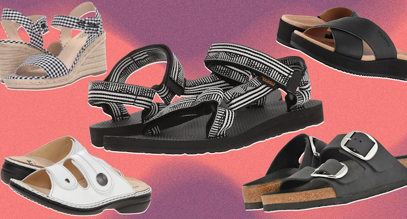 The best summer sandals for foot pain