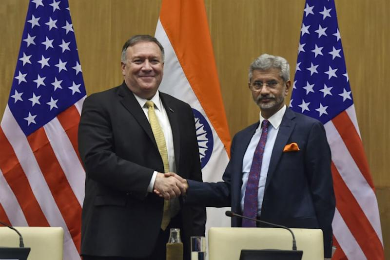 Jaishankar, Pompeo Discuss Security in Indo-Pacific Region, Cooperation in Covid-19 Efforts Over Phone