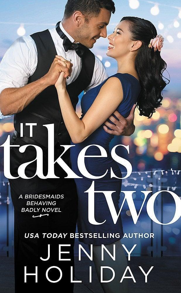 "<p>In <span><strong>It Takes Two</strong> by Jenny Holiday</span> ($8), Wendy Liu is a defense lawyer who's always prepared for anything - including her best friend's upcoming <a class=""link rapid-noclick-resp"" href=""https://www.popsugar.com/Wedding"" rel=""nofollow noopener"" target=""_blank"" data-ylk=""slk:wedding"">wedding</a>. But one thing she's not prepared for? Spending time with Noah Denning, her best friend's older brother, and the boy who broke her heart almost 20 years ago.</p> <p>I LOVE how this book makes it clear up front that Wendy is Asian by including an Asian model on the cover, rather than going the illustrated route, which can be more racially ambiguous. Technically, Wendy is Chinese-Canadian, but a good portion of the story takes place in the US. It's a cute and fast read, and I love the legal banter between Wendy and Noah since they are both lawyers.</p>"