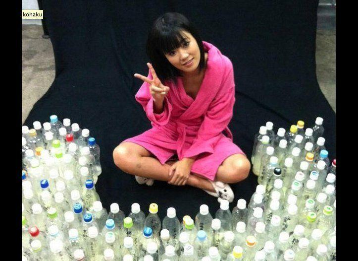 """Japanese porn star Uta Kohaku asked her fans on Twitter to donate their sperm as part of an erotic film titled """"Semen Collection 2."""" She received over 100 bottles in less than 10 days. <a href=""""http://www.huffingtonpost.com/2012/12/27/uta-kohaku-japanese-porn-semen_n_2366349.html"""" rel=""""nofollow noopener"""" target=""""_blank"""" data-ylk=""""slk:Read more about it here."""" class=""""link rapid-noclick-resp"""">Read more about it here.</a>"""