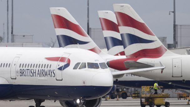 PHOTO:British Airways plane taxis after landing at Heathrow's Terminal 5, Sept. 9, 2019, in London. (Dan Kitwood/Getty Images)