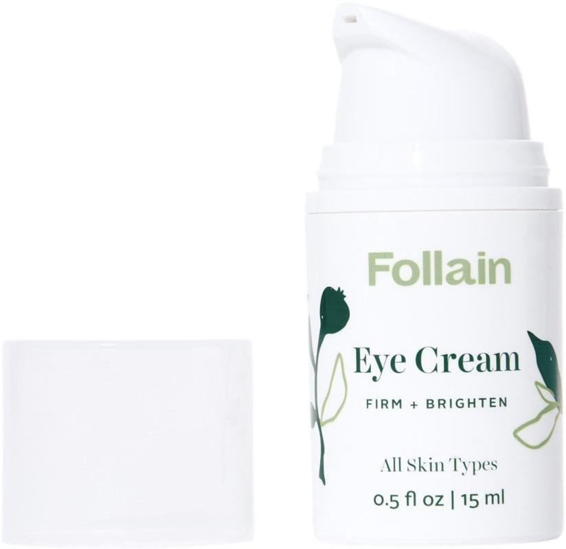 <p>Keep your eyes bright and hydrated with the <span>Follain Eye Cream: Firm + Brighten</span> ($25, originally $36).</p>