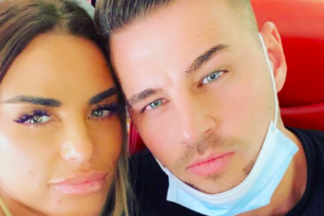 Price has thanked her boyfriend Carl Woods for being supportive (Instagram: @katieprice)