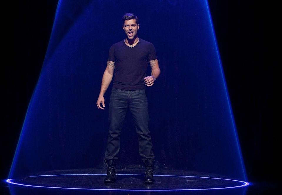 "<p>You might remember more than how to ask ""Where is the library?"" if every high school Spanish class included Ricky Martin as the teacher singing ""Sexy And I Know It"" as the day's instruction. The Grammy winner appeared in the third season of the show. </p>"