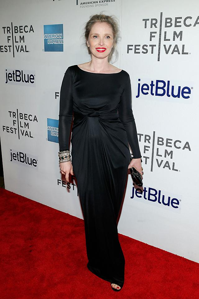 "NEW YORK, NY - APRIL 22: Actress Julie Delpy attends the ""Before Midnight"" New York premiere during the 2013 Tribeca Film Festival on April 22, 2013 in New York City. (Photo by Jemal Countess/Getty Images for Tribeca Film Festival)"