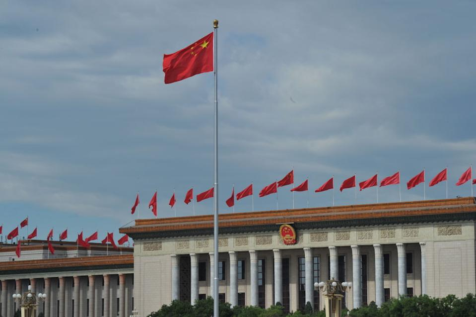 The Great Hall of the People is in Beijing, China. Source: Getty Images