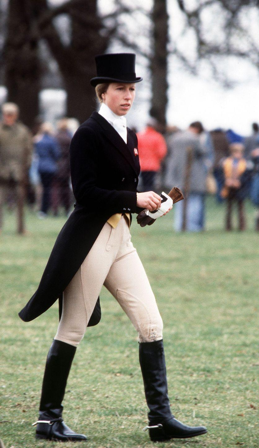 <p>At the Burghley Horse Trials, which she won.</p>