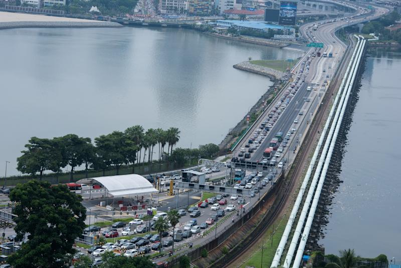 Woodlands Checkpoint Causeway (Yahoo News Singapore file photo)