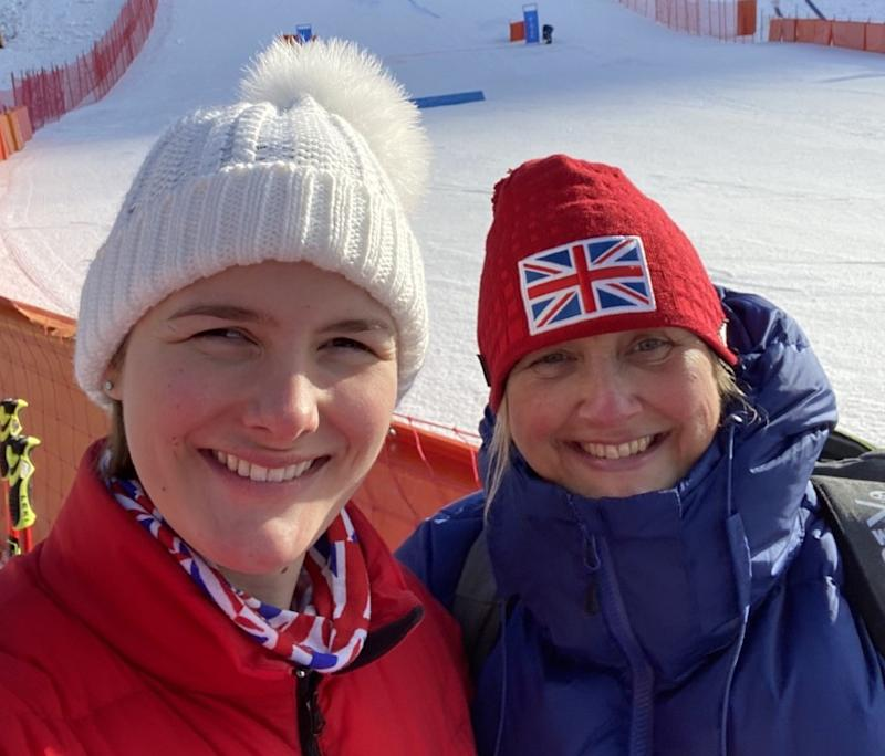 Millie and Suzanne Knight have enjoyed a globetrotting tour together that culminated in her pair of silver medals at the 2018 Winter Paralympics in PyeongChang