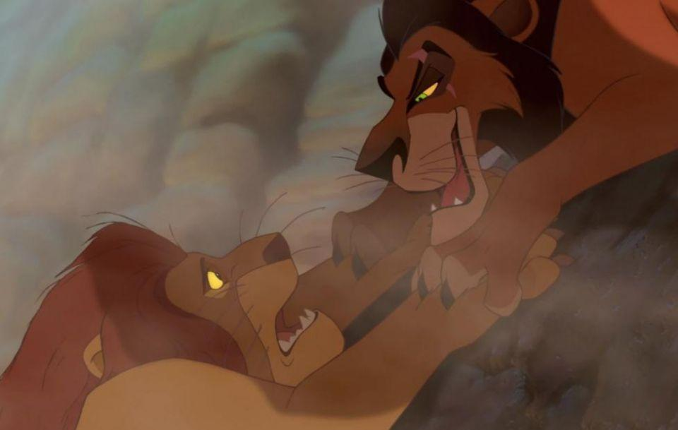 This is the moment that broke all hearts in The Lion King. Source: Disney