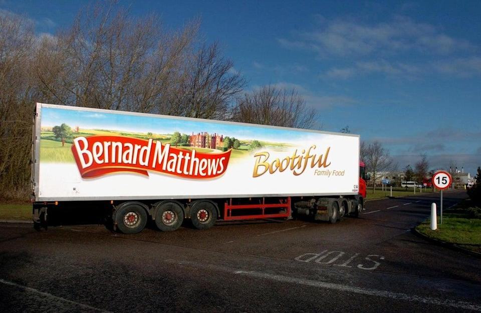 The owner of Bernard Matthews has spoken out about shortages (Chris Radburn/PA) (PA Archive)