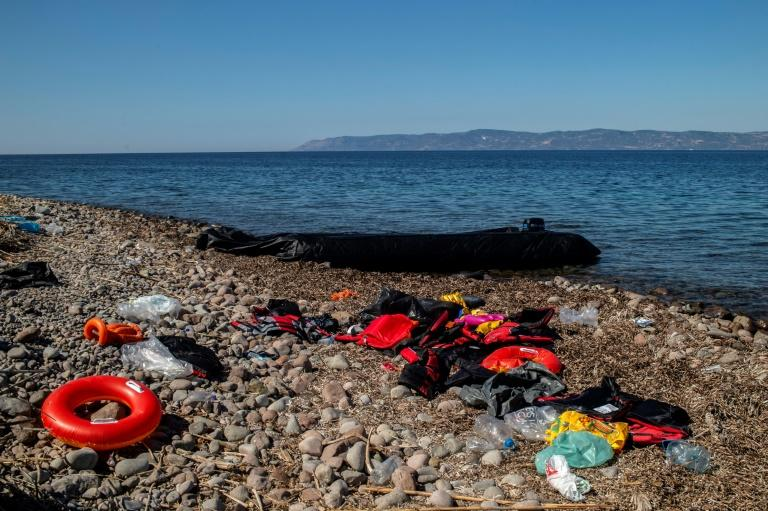More than 60 people have died so far this year attempting to cross the Aegean