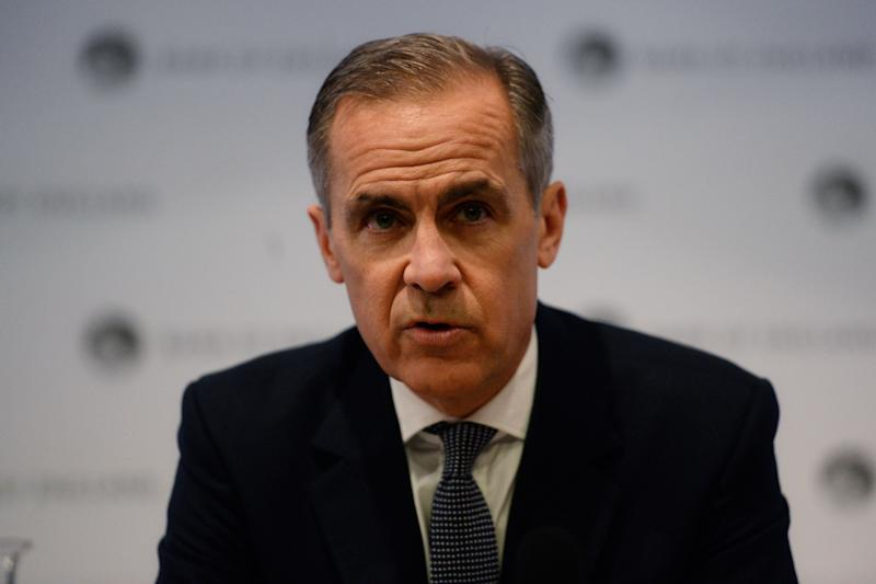 Bank of England Governor Mark Carney speaks at a press conference at the Bank of England in London, Britain February 25, 2019. Kirsty O'Connor/Pool via REUTERS