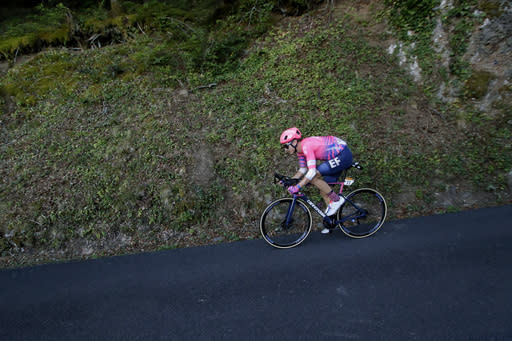 First Native American racer blazes trail at Tour de France