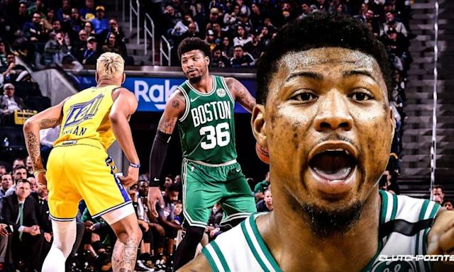 Marcus Smart Admits To Sustaining Minor Injuries During Game vs. Warriors