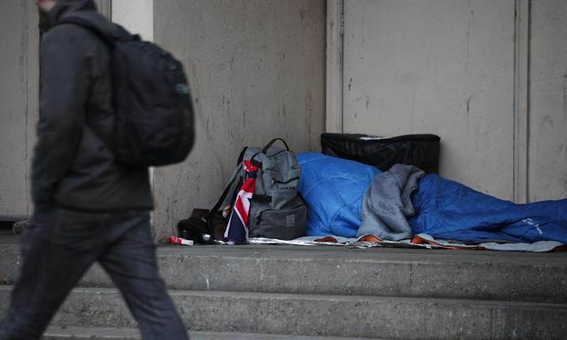 People don't sleep rough because of a lack of housing, but because of the lack of support services to help them find and stay in accommodation.
