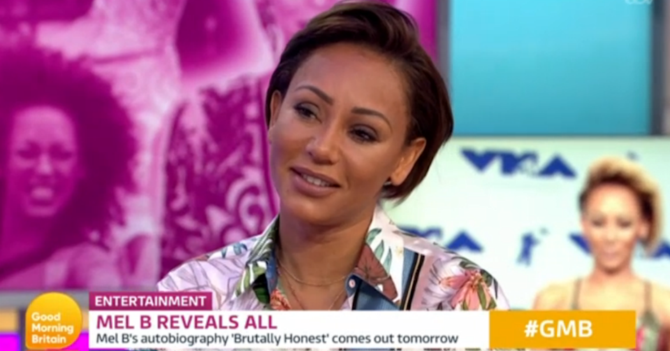 Mel B made the somewhat surprising confession on Good Morning Britain (ITV)