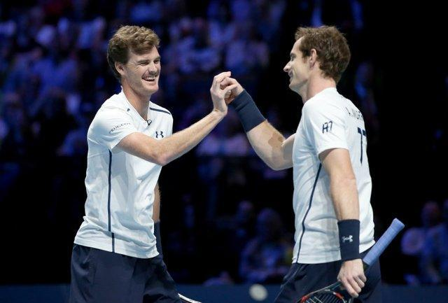 Judy Murray will be at Wimbledon again to see sons Andy Murray (right) and Jamie Murray