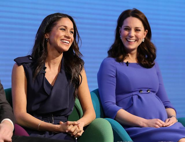 Meghan Markle has embraced the #MeToo and #TimesUp movements — will Kate Middleton? (Photo: Getty Images)