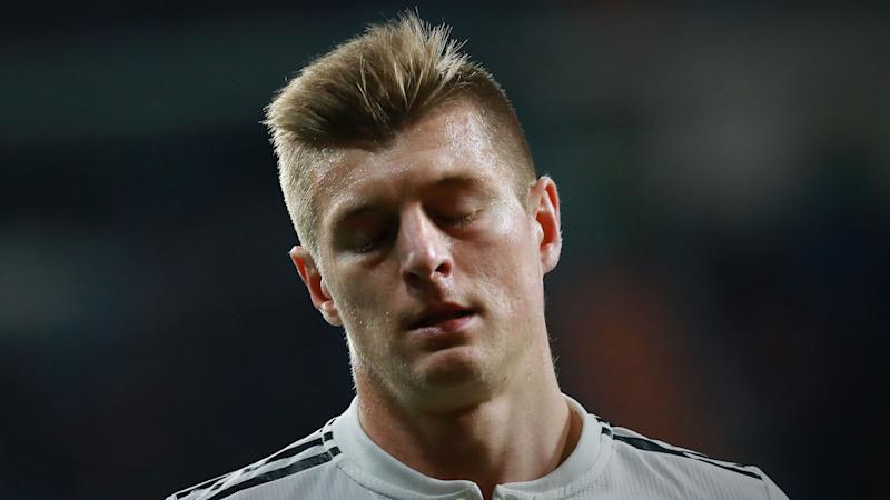 Real Madrid star Kroos sidelined by adductor tear