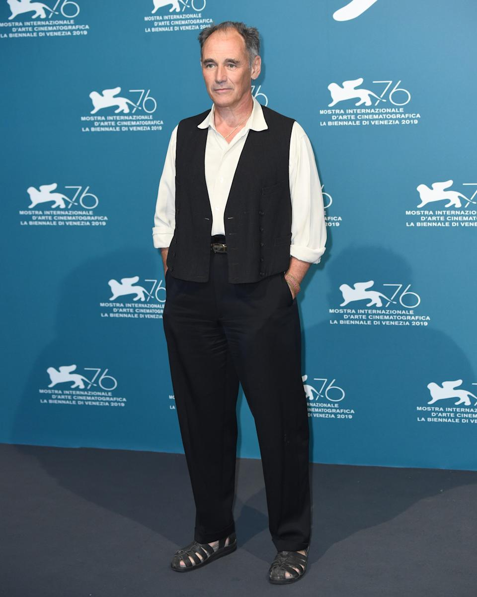 """<h1 class=""""title"""">September 6: Mark Rylance</h1> <div class=""""caption""""> Mark Rylance might be our greatest living Shakespearean actor, and also wears the hell out of a pair of sandals. Coincidence? We think not. </div> <cite class=""""credit"""">Getty Images</cite>"""