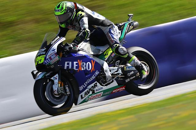Crutchlow was distracted by Miller's start