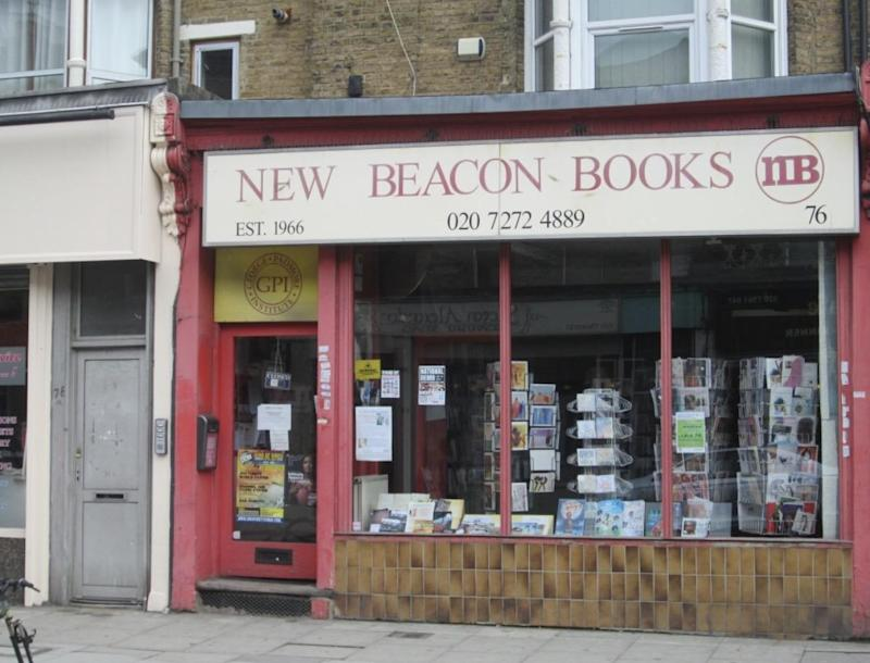The bookshop in Finsbury Park was founded over 50 years ago (New Beacon Books)