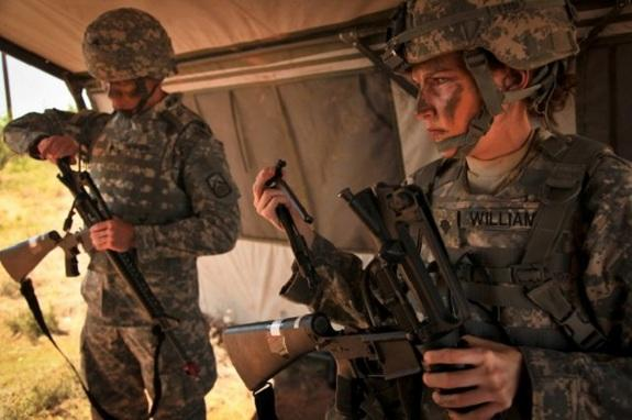 US Army Tests Body Armor for Female Soldiers